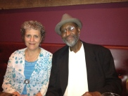 Susan and Frank Robinson after sitting in at The Family Dog 2012