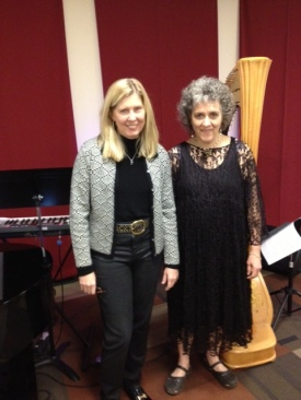 With Penelope Williams at Spiritual Center of Atlanta, 12/29/13