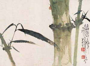 Chinese Brush Painting by an ancient master