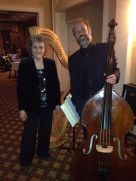 Susan and Matt Stallard on Valentines 2014 at Sugarloaf Country Club playing jazz