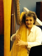 Susan and her harp